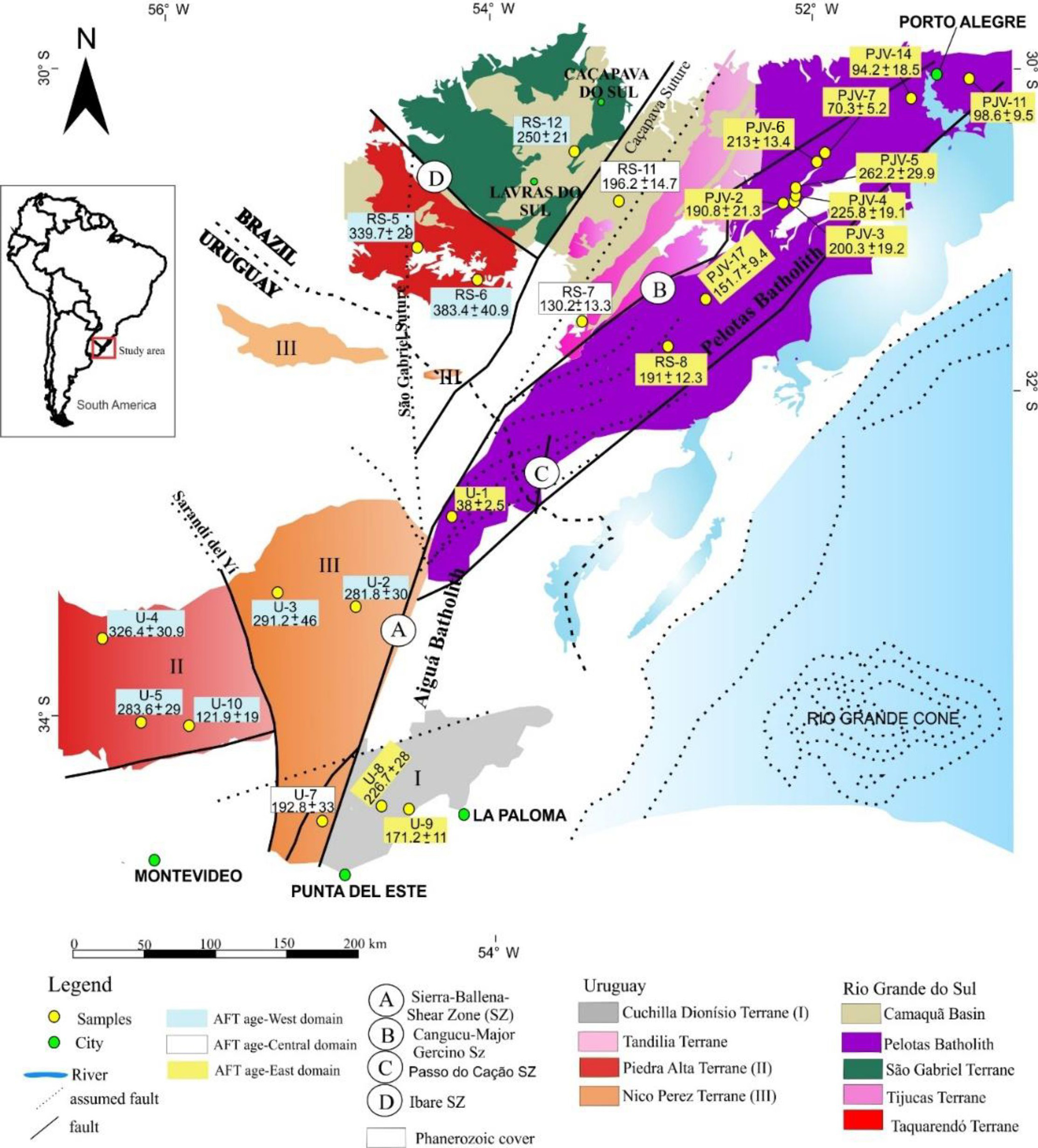 Adgeo New Insights Into The Gondwana Breakup At The